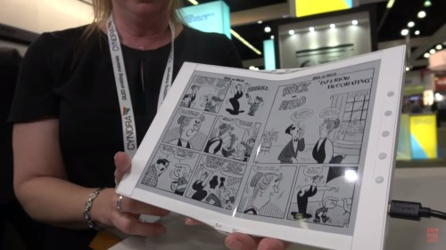 Sony and E-ink Launch New JV, Linfiny, to Develop E-ink Notebooks (But Possibly Not Laptops) e-Reading Hardware