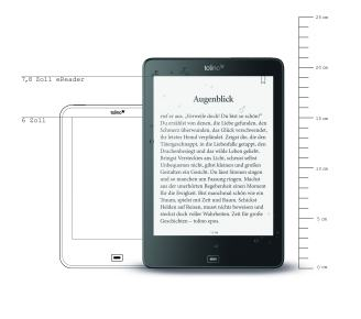 New Tolino Epic is Water-Resistant and a Plus-Sized Screen e-Reading Hardware