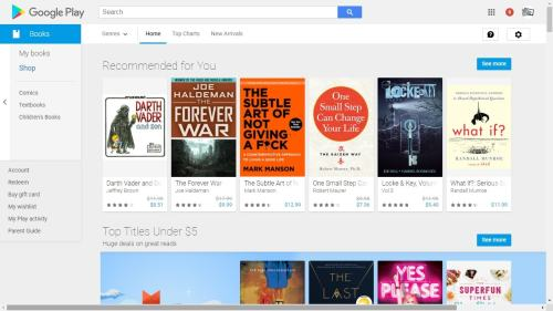 Google Play Books is Currently Offering a $5 credit Google Books Google Play