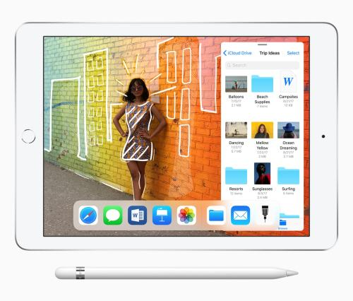 New Apple iPad Gains Support for Apple's Apple Pencil, and Schools Can Get it at a Discount e-Reading Hardware iDevice