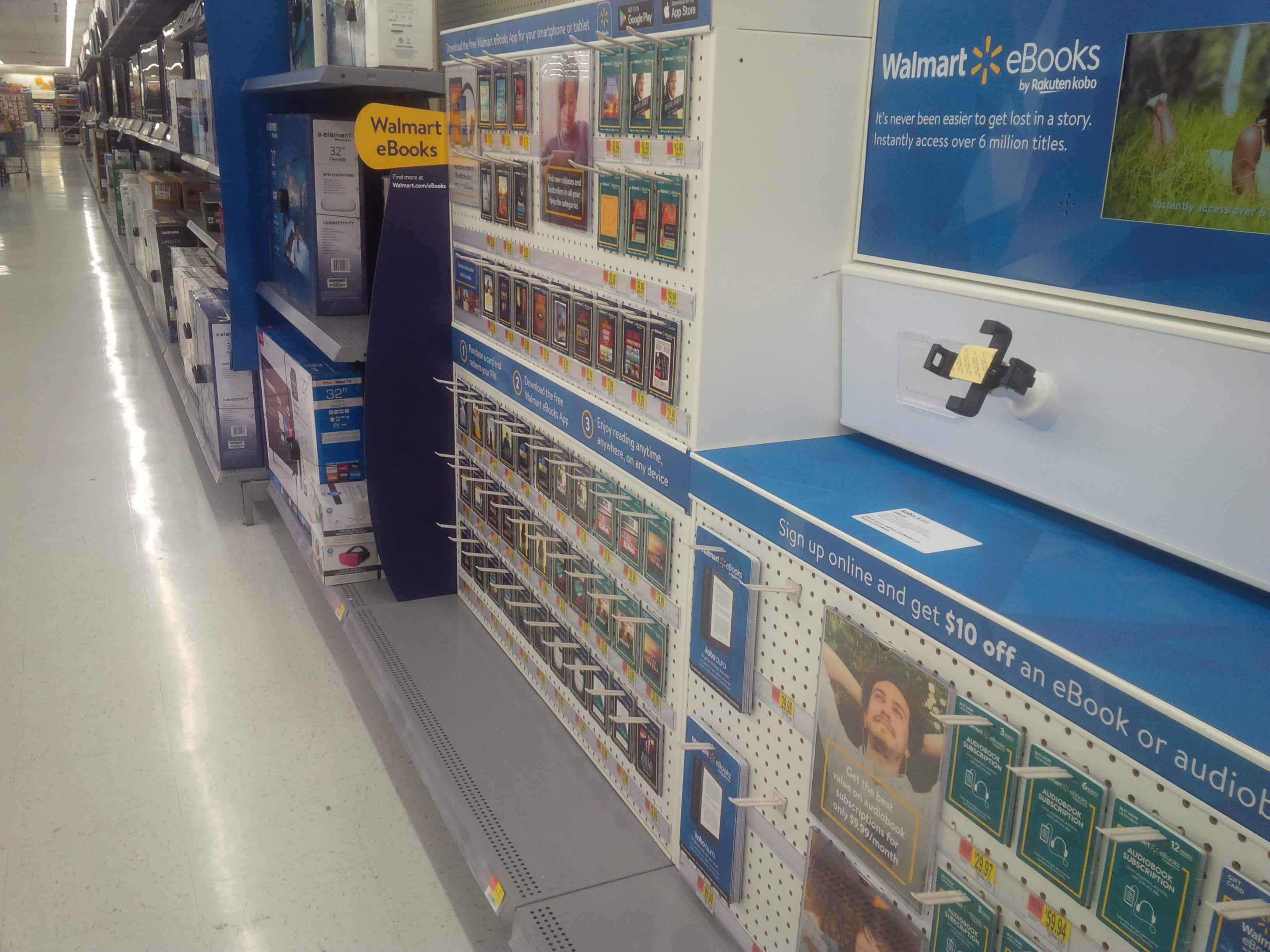 How to Tell Whether Your Local Walmart Has Kobo eReaders in