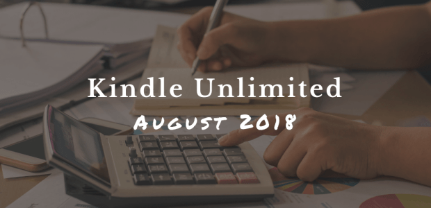 Kindle Unlimited Funding Pool Grew in August 2018 While the Per-Page Rate Didn't Change ebook sales Kindle (platform)