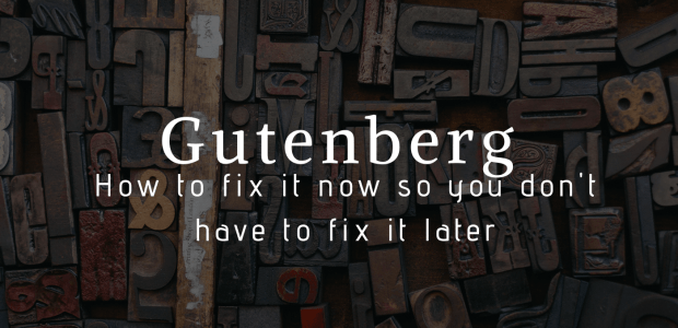 Gutenberg Will be Released with Wordpress 5.0 on 19 November - Here's What You Need to Do Web Publishing