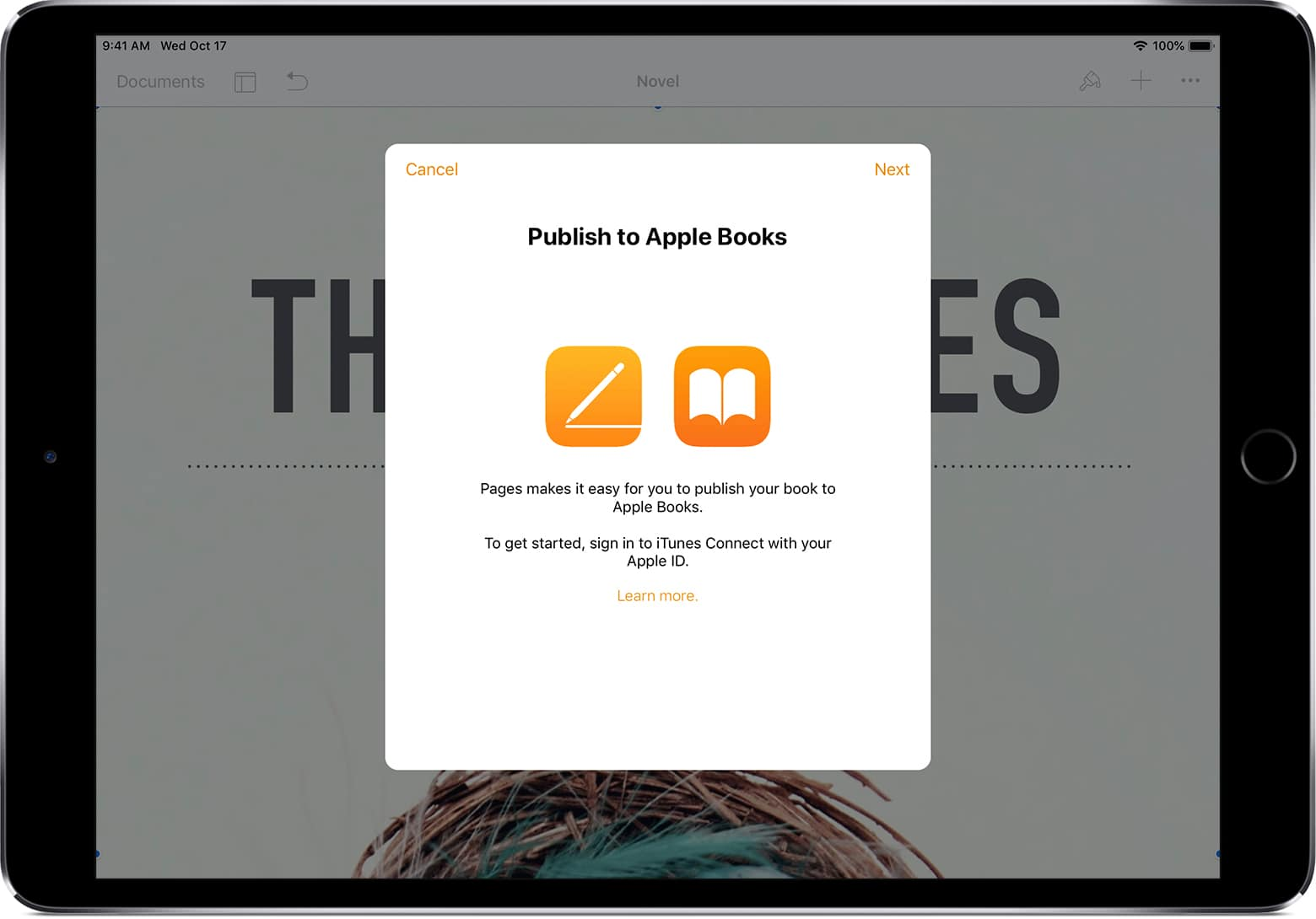 Pages Now Publishes Directly to Apple Books   The Digital Reader