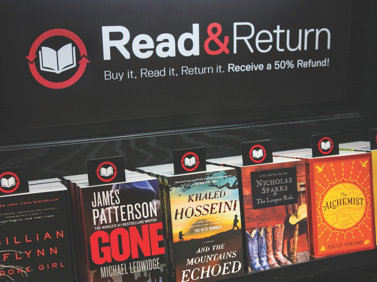 You Can Read and Return a Book to an Airport Bookstore