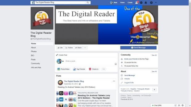 Someone Was Impersonating My Blog on Facebook in 2012 blog maintenance Social Media