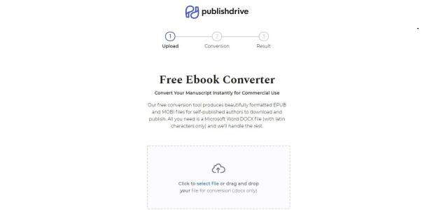 PublishDrive Launches an eBook Production Tool content creation ebook tools