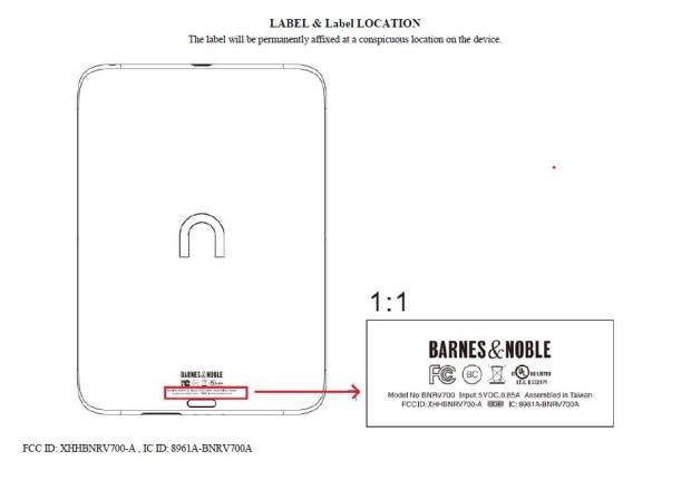 New Nook eReader Clears the FCC Barnes & Noble e-Reading Hardware