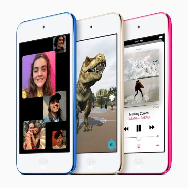 "Apple Refreshes the iPod Touch, Keeps the Same Tiny-Ass 4"" Screen e-Reading Hardware"