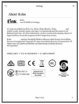Kobo Libra H2O eReader Clears the FCC e-Reading Hardware Kobo