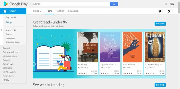 Google Play Books Ends Discounting in Canada, Australia, and USA - Now Pays a 70% Royalty eBookstore Google Books