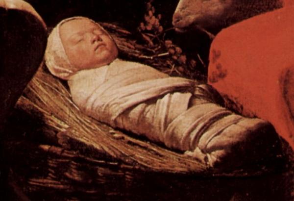 Das Jesus-Kind als Püngel