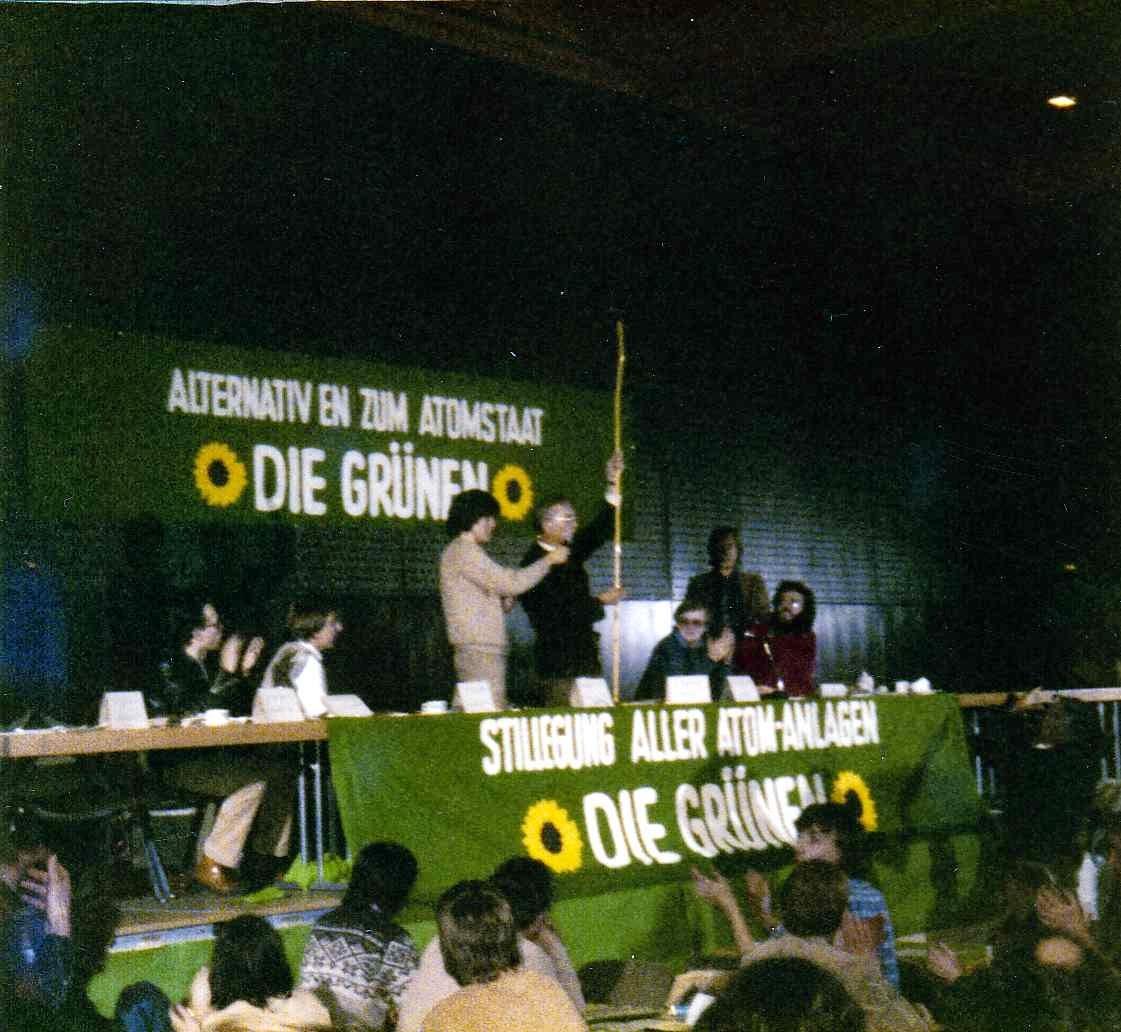 Gründung der NRW-Grünen im Dezember 1979