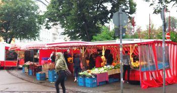 Samstagsmarkt am Fürstenplatz