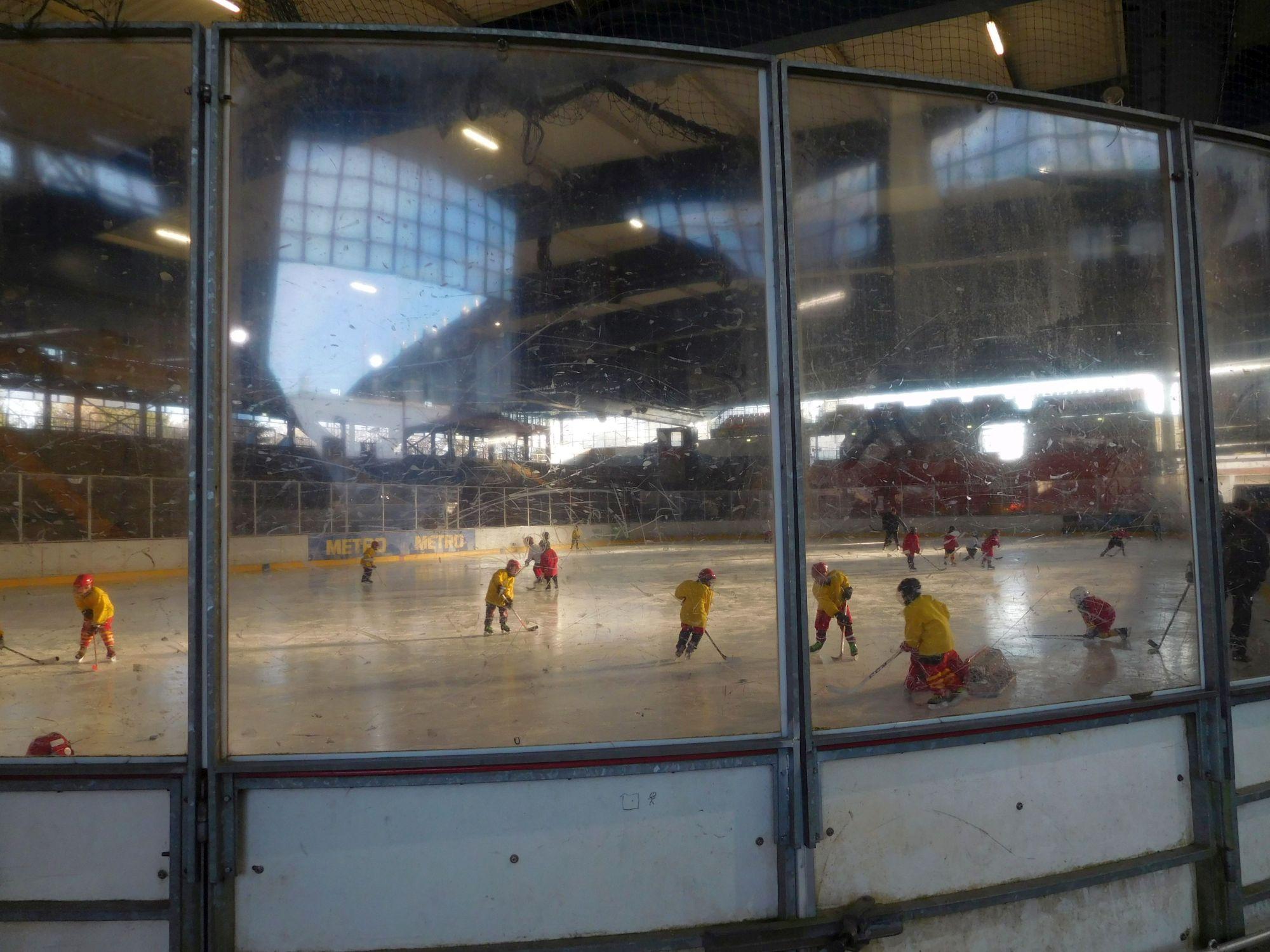 Im Eistempel trainieren immer noch die Bambini der DEG (Foto: TD)