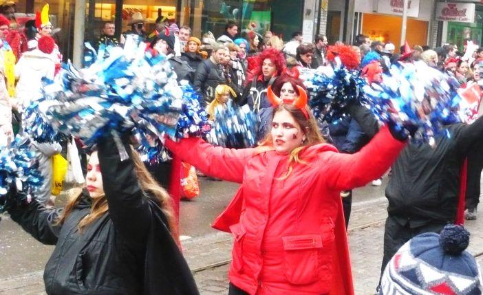 Karneval ist nicht lustig, aber manchmal ziemlich anstrengend