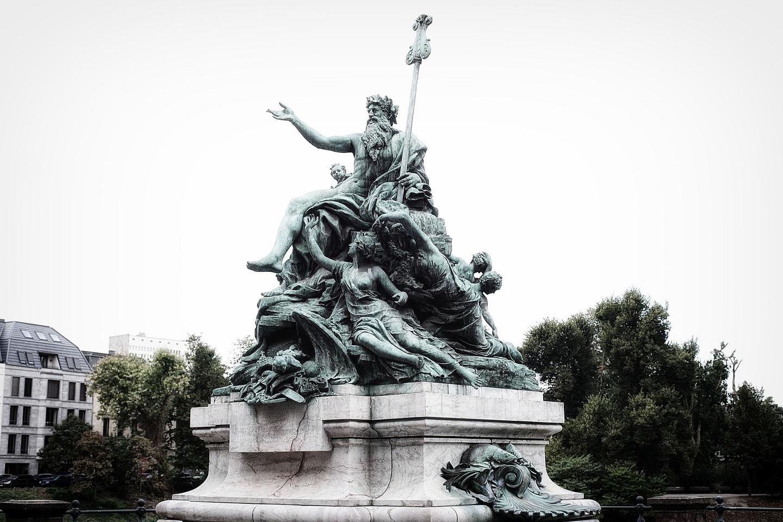 Vater Rhein und seine Töchter (Foto: Matthias Neugebauer via Zoomer.de)