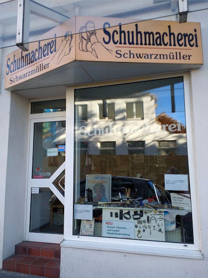 Schuhmacherei Frank Schwarzmüller auf der Klosterstraße