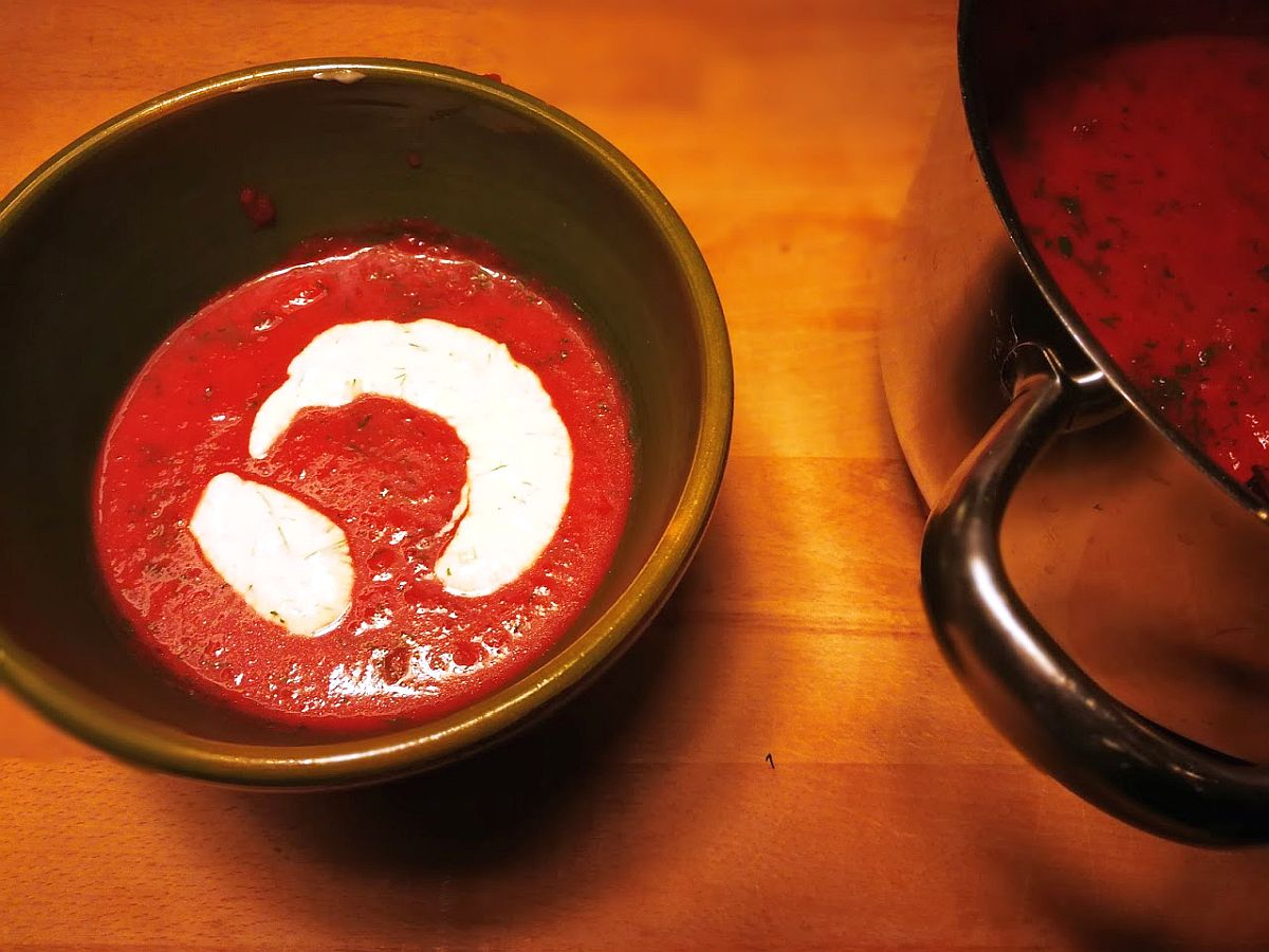 RdW: Rote-Bete-Suppe