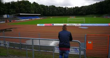 Fränkie (Mayer) goes to Stadion Sonnenblume