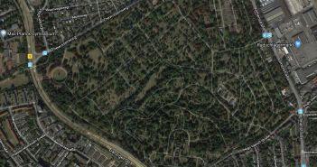 Google-Map: Nordfriedhof