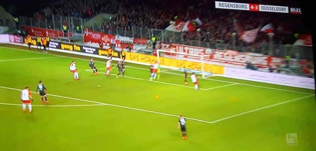 Regensburg vs F95: 4:3