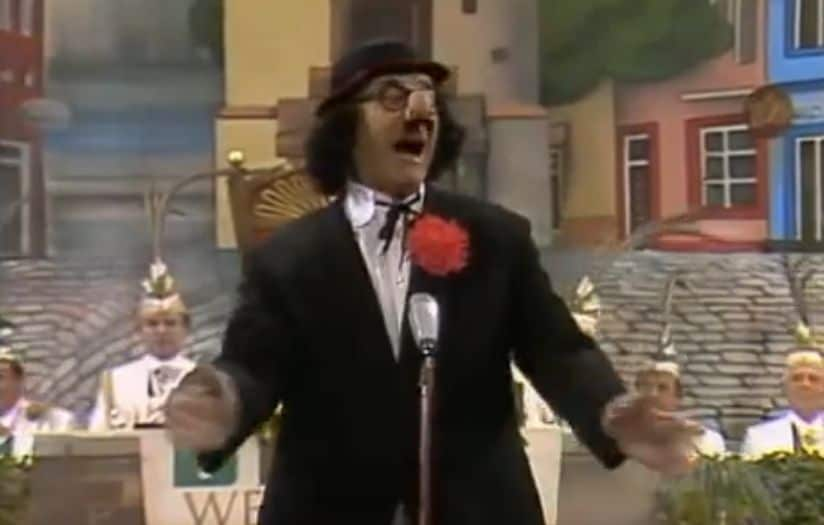 Hans Lötzsch singt das Altbierlied
