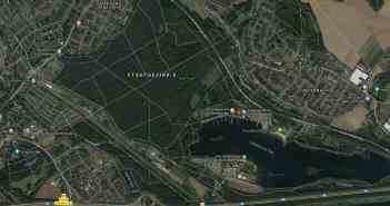 Google-Map: Die Region der Park-See-Forst-Tour