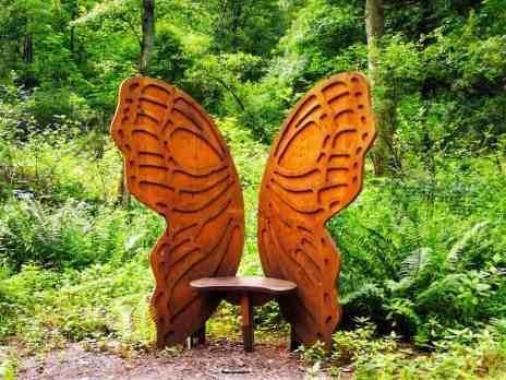 Schmetterlingssitz