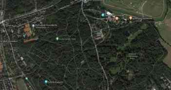 Google-Map: Grafenberger Wald