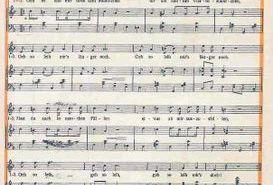 Text und Noten zum GeSoLei-Schlager