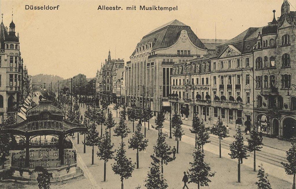 Düsselquiz 86: Die Alleestraße um 1900