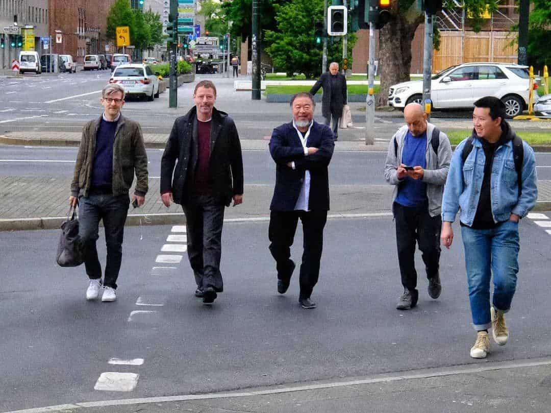 Ai Weiwei kommt (Foto: Matthias Neugebauer)