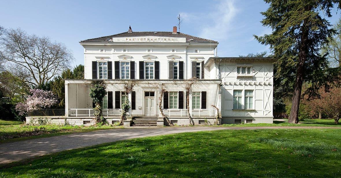 Das Herrenhaus im Lantz'schen Park