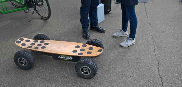 Darauf hat die Welt gewartet: ein elektrisches Skateboard