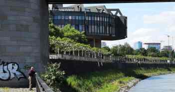 Blick zum Landtag