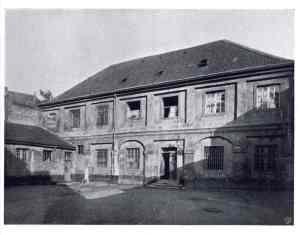 Das Kaschott im Gebäude der alten Akademie an der Schulstraße