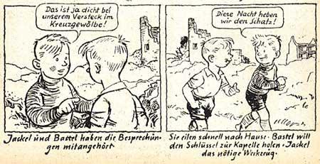 """Zwei Bände """"Jackel und Bastel"""" schuf Füsser in den 50ern"""