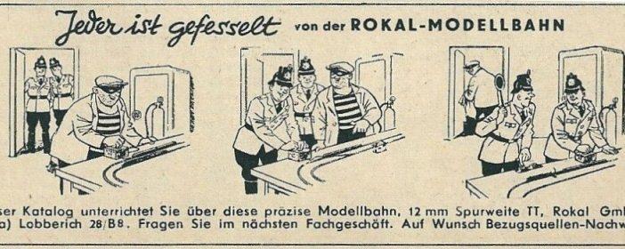 Füssers legendären Rokal-Werbeanzeigen