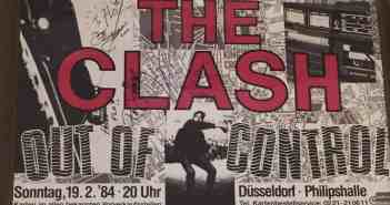 The Clash in der Philipshalle - das Ticket, eine Reliquie