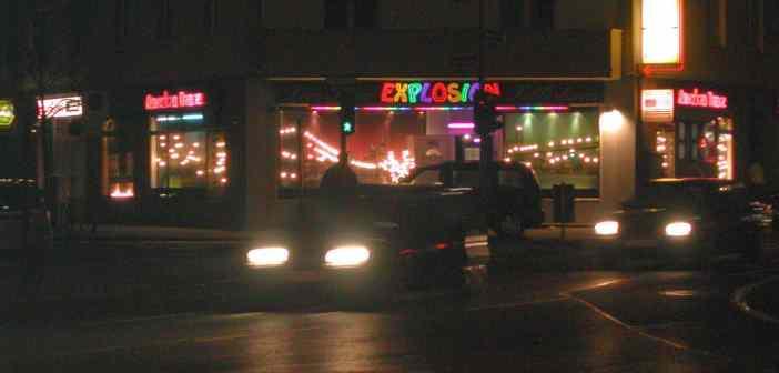 Mintropstraße nachts (2008)