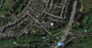 Google Map: Die Reichswaldallee