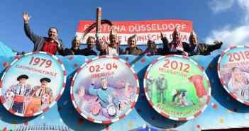 Karnevalswagen zum 125-Jahre-Jubiläum: Wenigstens das hat noch geklappt