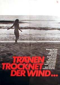 """Plakat zum Film """"Tränen trocknet der Wind"""" von 1967 - ihr erste Hauptrolle"""