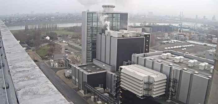 Blick auf den Block Fortuna des Kraftwerks auf der Lausward (Screenshot)