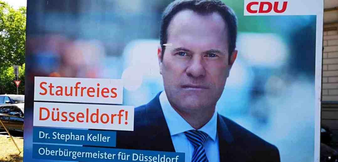 Sieger in der Stichwahl: Dr. Stephan Keller, zukünftiger OB (eigenes Foto)