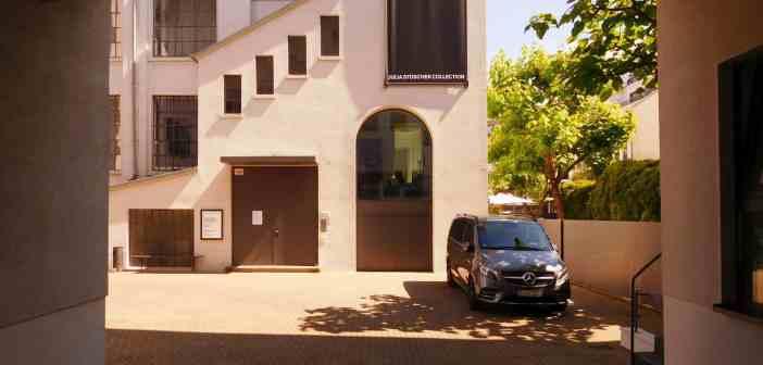 Eingang zur JSC im Innenhof (eigenes Foto)