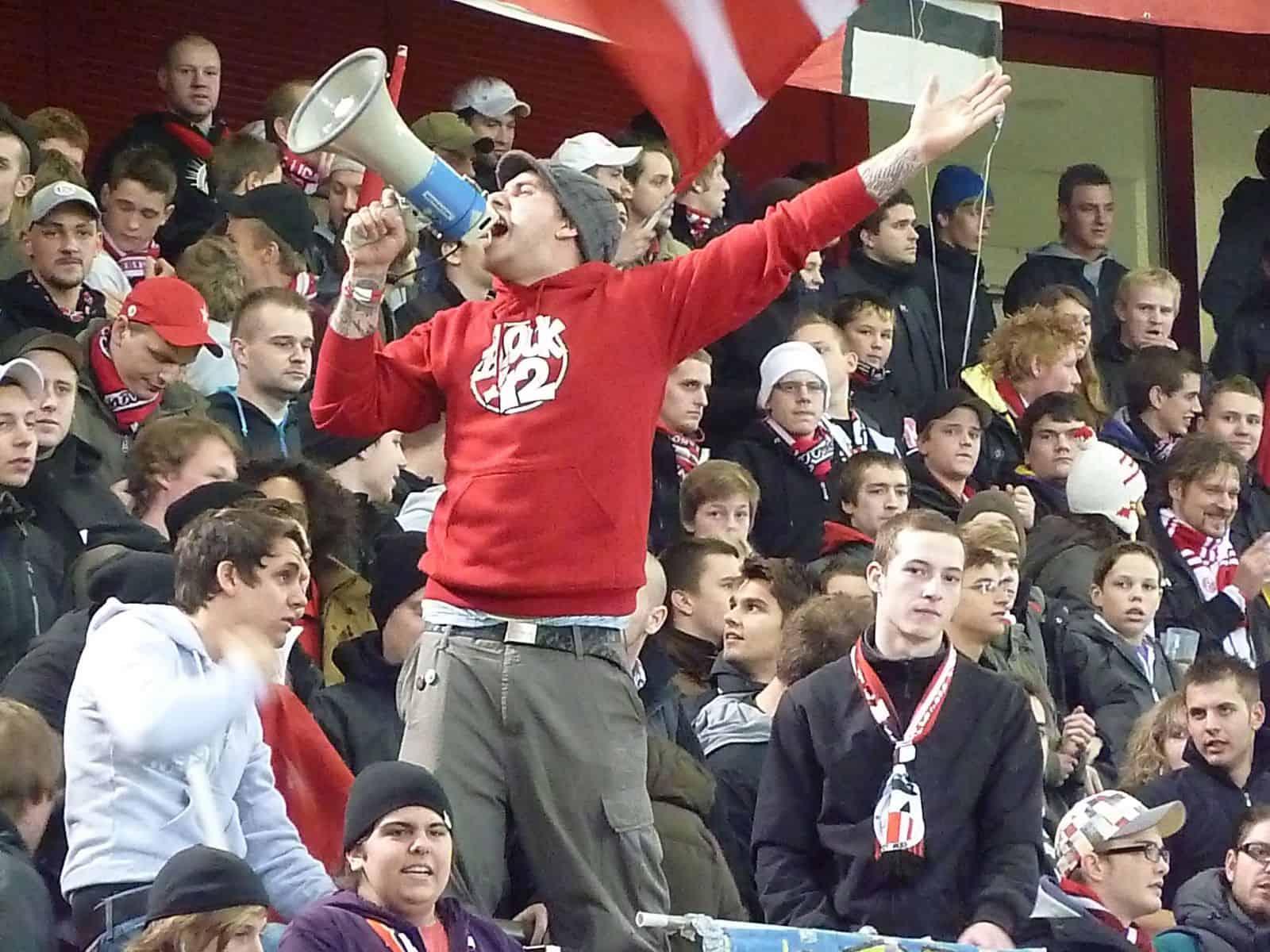 12.11.2010: Niko in seinem Element beim 3:0 der Fortuna über Oberhausen (Foto: TD)