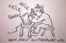 Samer, der Elektronik-Zauberer (Illustration: M. Dederichs)