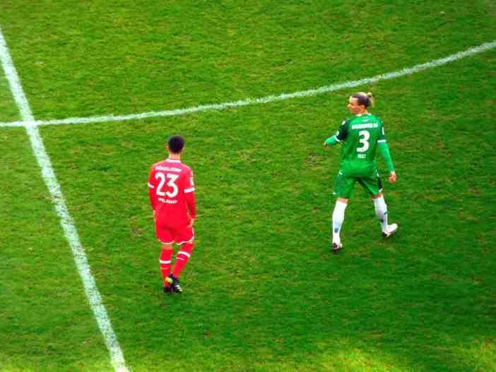 F95 vs Hannover: Unser Shinta, der junge Appelkamp (Foto: TD)